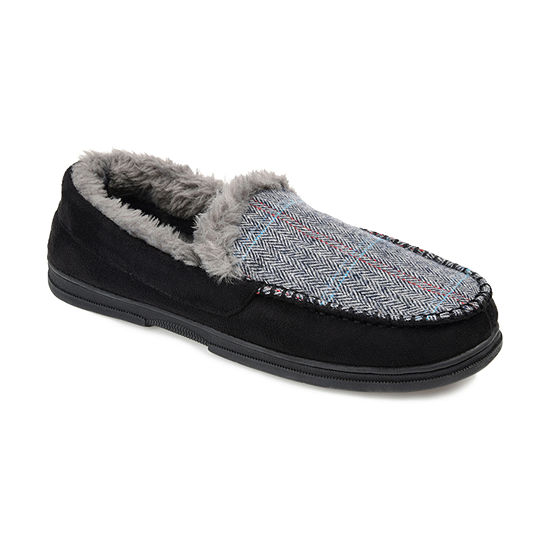 Vance Co Winston Mens Moccasin Slippers