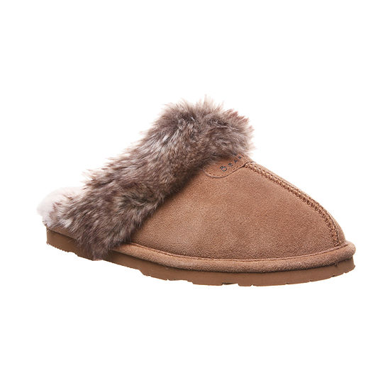 Bearpaw Indoor Outdoor Womens Slip-On Slippers