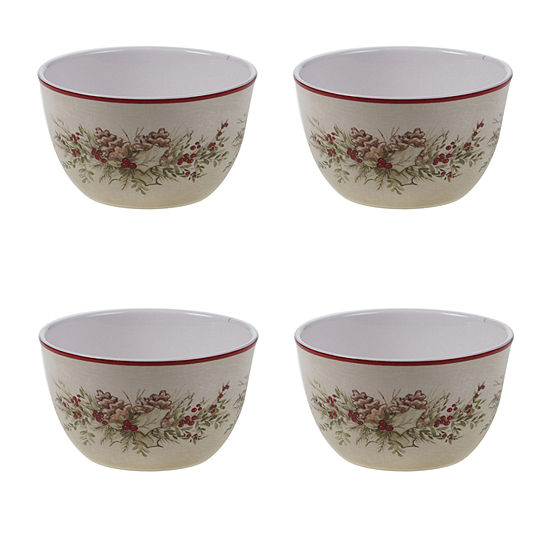 Certified International Holiday Traditions 4-pc. Cereal Bowl
