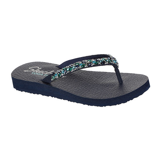 Skechers Womens Sk Meditation Sweet Shine Flip-Flops