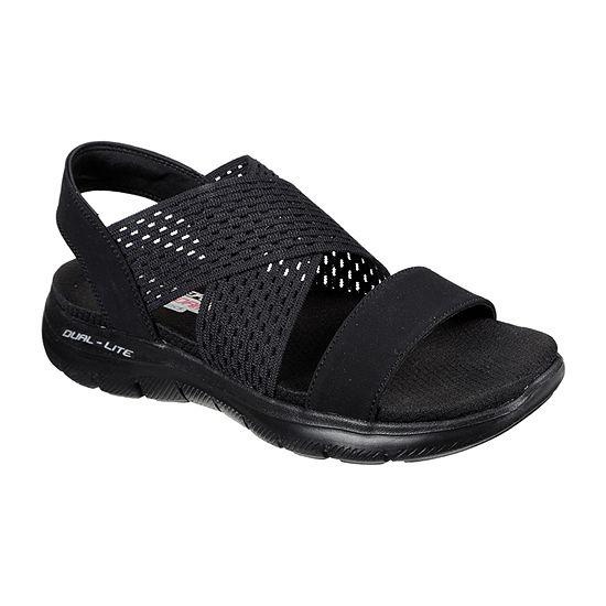 Skechers Womens Flex Appeal 2.0 - Cool City Slide Sandals
