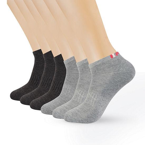 Fila 6 Pair No Show Socks Womens