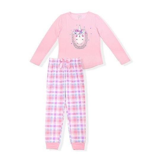 Sleep On It Little & Big Girls 2-pc. Pant Pajama Set