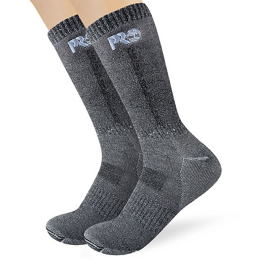Timberland 2 Pair Boot Socks-Mens