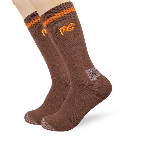 Timberland Mens 2 Pair Boot Socks