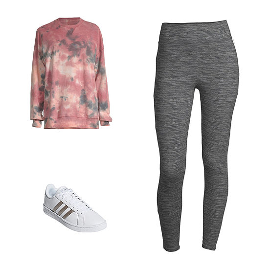 Couch Comfies: Flirtitude Tie Dye Sweatshirt & Leggings