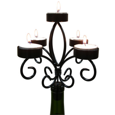 Epicureanist™ Wine Bottle Candelabra