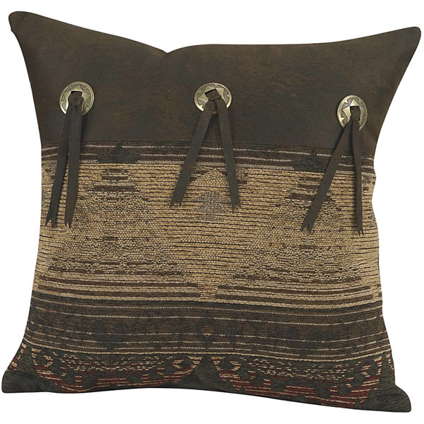 HiEnd Accents Sierra Square Decorative Pillow