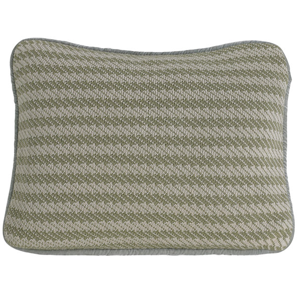 HiEnd Accents Arlington Knitted Decorative Pillow