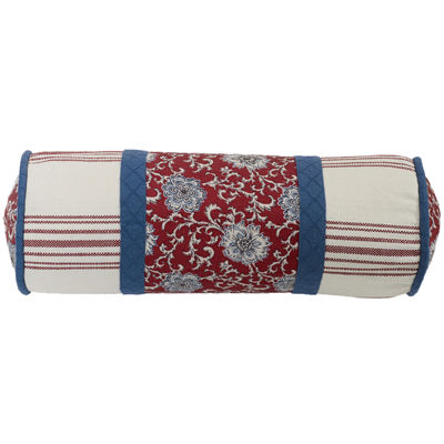 HiEnd Accents Bandera Floral Bolster Pillow