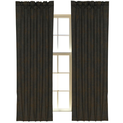HiEnd Accents Barbwire Curtain Panel
