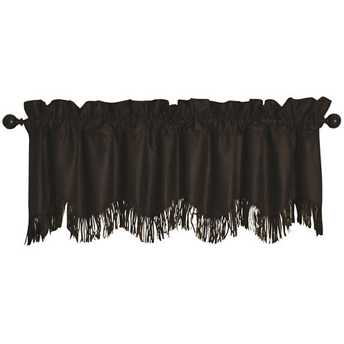 HiEnd Accents Barbwire Chocolate Valance