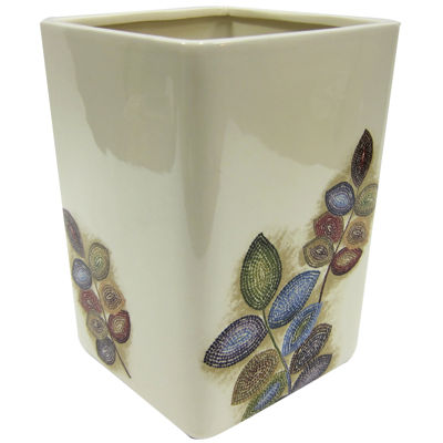 Croscill Classics® Mosaic Leaves Wastebasket