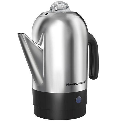 Hamilton Beach® 8-Cup Stainless Steel Percolator