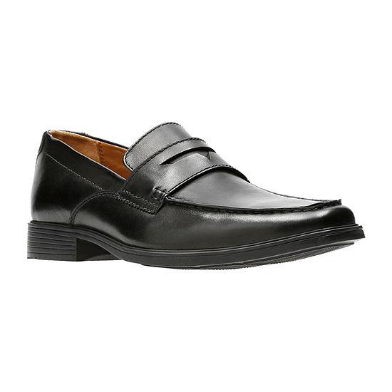 Clarks Mens Tilden Way Loafers