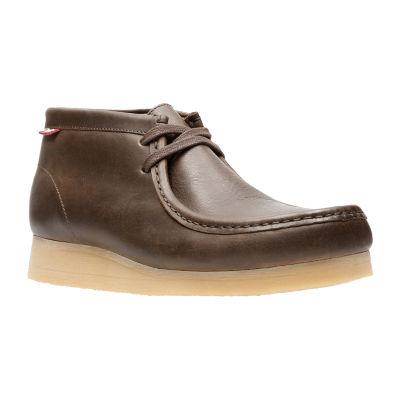 Clarks Mens Stinson Hi Chukka Boots Lace-up