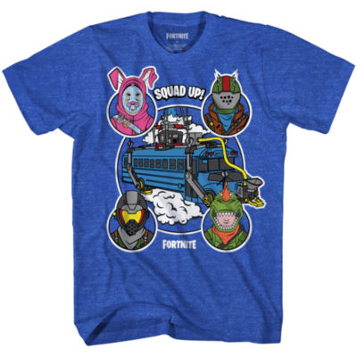 Mens Fortnite Bus Graphic Tee