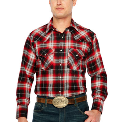 Ely Cattleman Snap Flannel Shirt