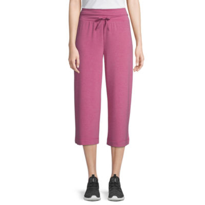 St. John's Bay Active Mid Rise Cropped Pants