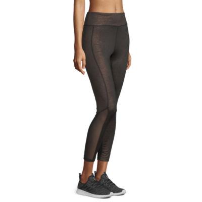 Xersion Glitter Legging Womens Mid Rise Legging