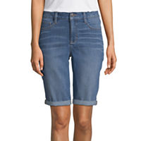 JCPenney deals on St. John's Bay Womens Mid Rise 11-Inch Bermuda Short