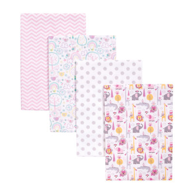 Trend Lab Pink Safari 4-pc Blanket - Girls