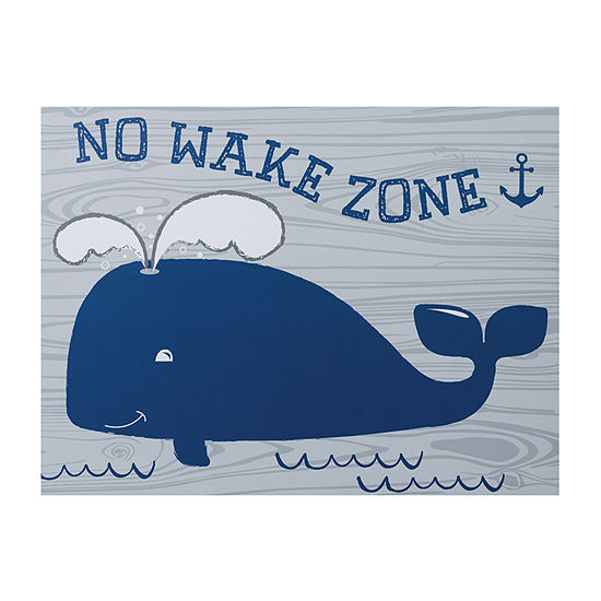 Trend Lab No Wake Zone Canvas Wall Art Canvas Art