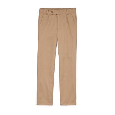 Izod Boys Stretch Pleated Pant 8-20