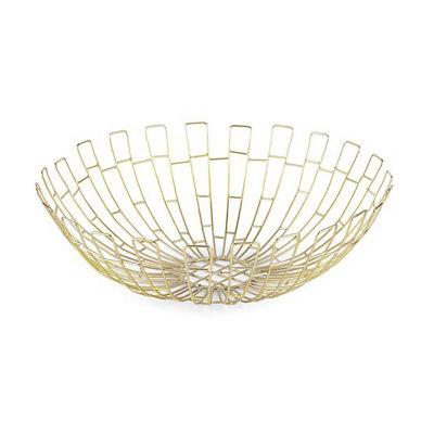 "Home Essentials 16"" Wire Basket Decorative Bowl"