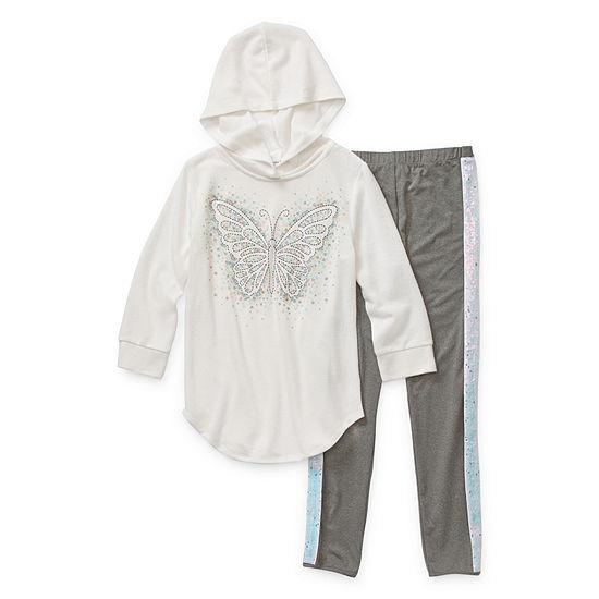 Knit Works Girls 2-pc. Legging Set Preschool / Big Kid