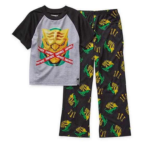 Little Kid / Big Kid Boys 2-pc. Fortnite Pant Pajama Set