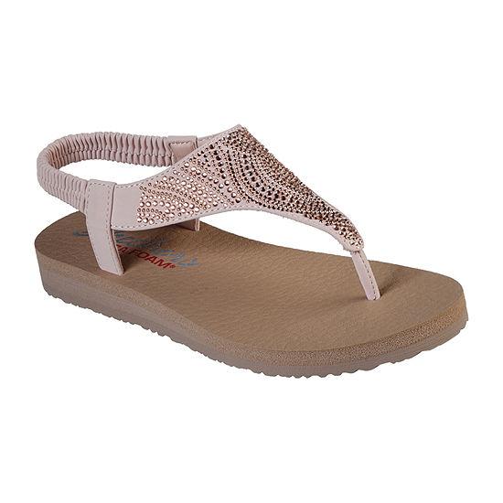 Skechers Womens Meditation - New Moon Strap Sandals