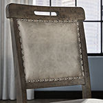 Signature Design by Ashley Johurst Dining Collection 2-pc. Counter Height Upholstered Bar Stool