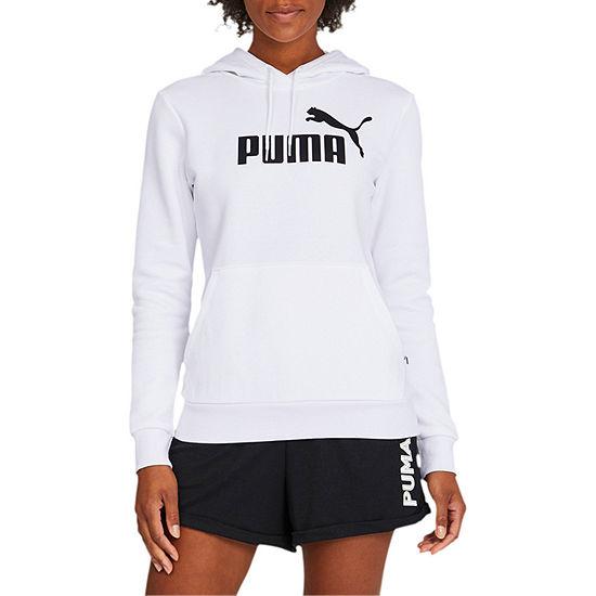 Puma Womens Hooded Neck Long Sleeve Hoodie