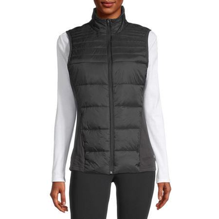 Xersion Women's Puffer Vest, Medium , Black