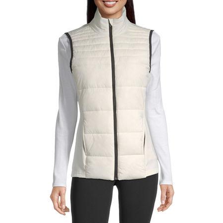 Xersion Women's Puffer Vest, Small , White
