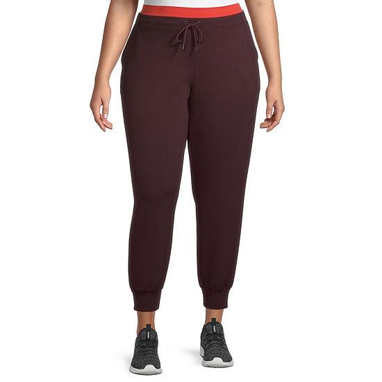 Xersion Womens Mid Rise Plus Jogger Pant