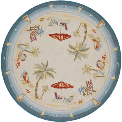 Couristan® Pacific Heights Indoor/Outdoor Round Rug