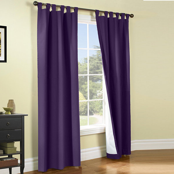 Weathermate 2 Pack Room Darkening Tab Top Curtain Panels JCPenney