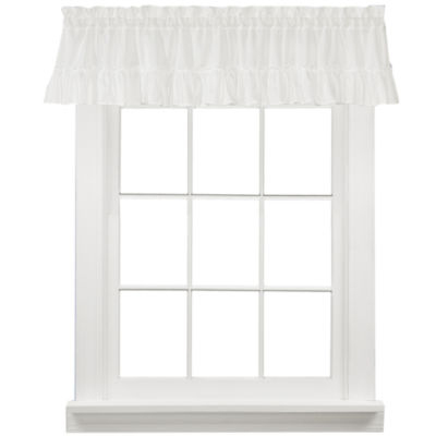 Sarah Cape Cod Rod-Pocket Valance