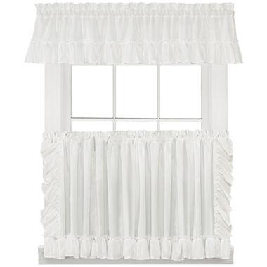 Sarah Cape Cod Kitchen Curtains - Cape cod kitchen curtains