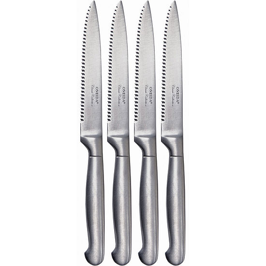 Oneida® Set of 4 Stainless Steel Steak Knives