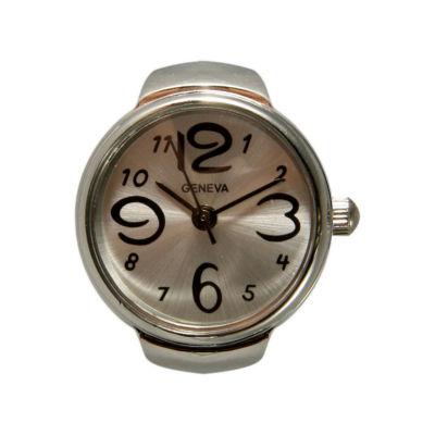 Olivia Pratt Ring Womens Pocket Watch-15007silver