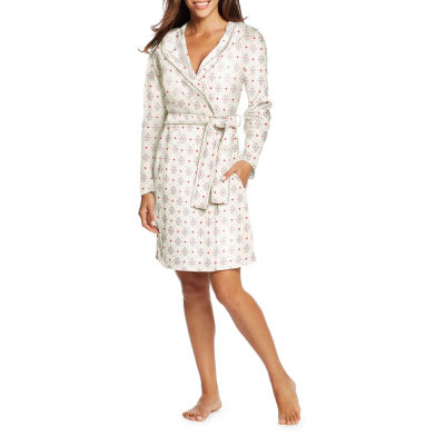 Maidenform Long Sleeve Fleece Robe