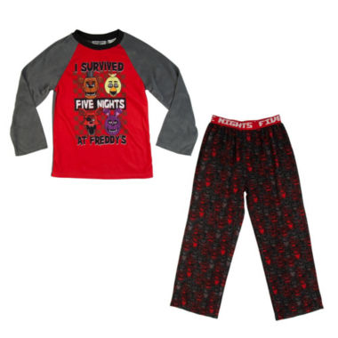 Five Nights at Freddy's 2 PC Pajama Set - Boys 4-20