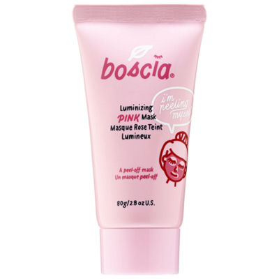 boscia Luminizing Pink Mask with Charcoal