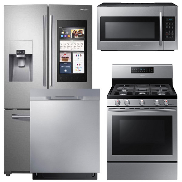 Samsung® 4-pc. Gas Kitchen Package- Stainless Steel