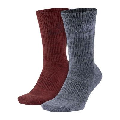 Nike® 2-pk. Mens Crew Socks - Extended Size