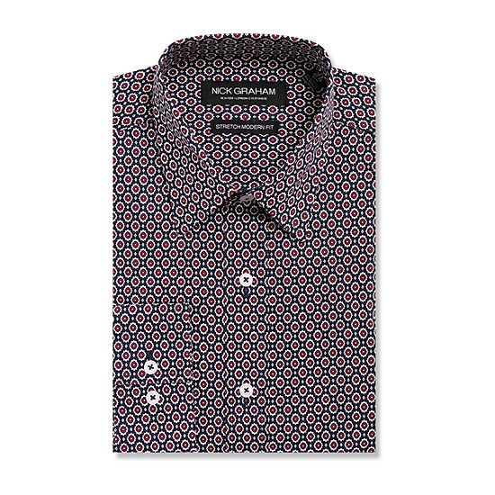 Graham And Co Long Sleeve Dress Shirt - Fitted
