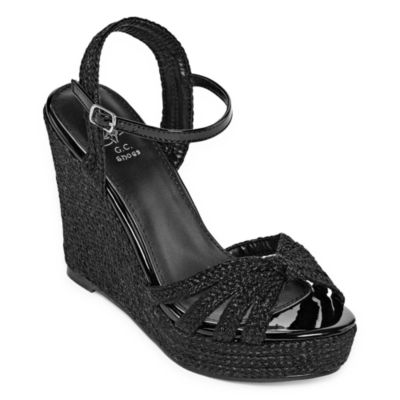 GC Shoes Womens Honor Wedge Sandals